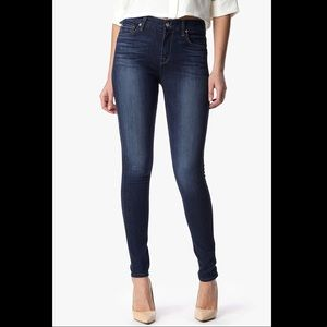7 For All Mankind The High Waist Skinny in Indigo